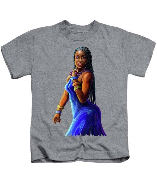 African Woman Kids T-Shirt