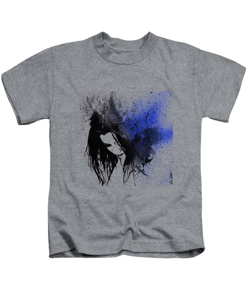 This Confession Means Nothing - Blue Kids T-Shirt