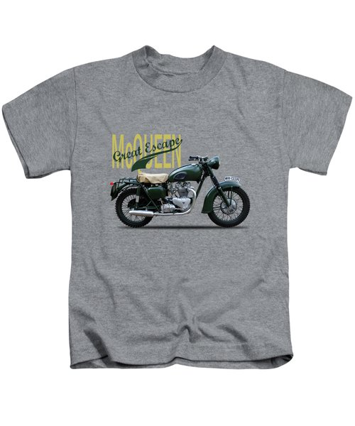 The Great Escape Motorcycle Kids T-Shirt