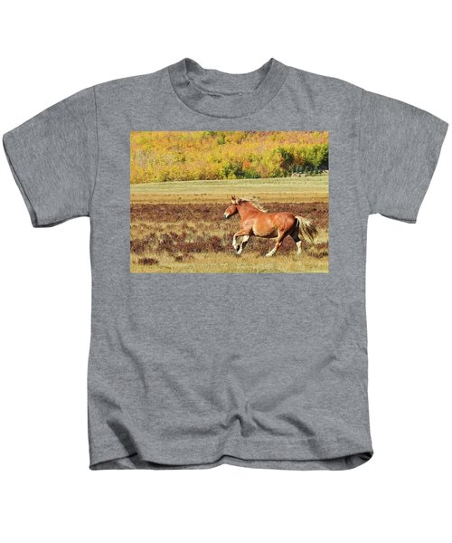 Aspen And Horsepower Kids T-Shirt