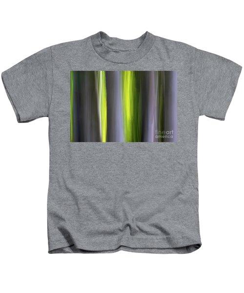 Aspen Blur #7 Kids T-Shirt