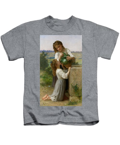 At The Fountain Kids T-Shirt