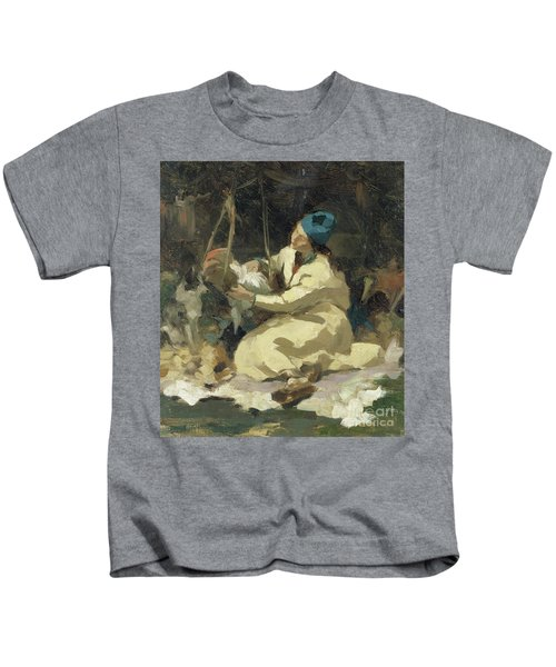 At The Suspended Cradle Kids T-Shirt