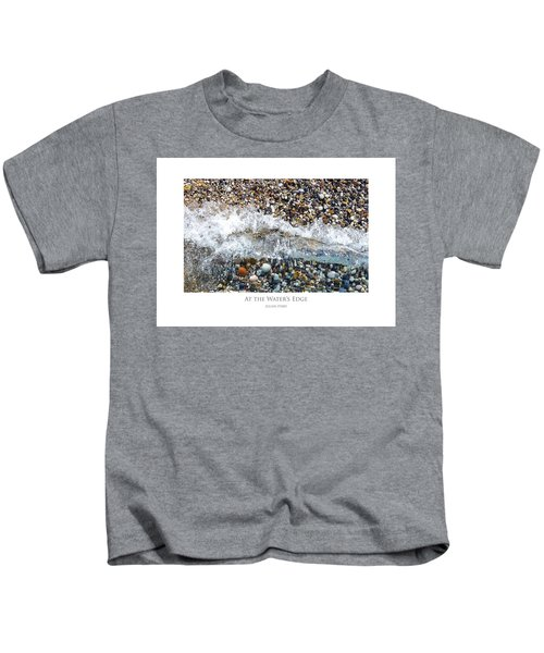At The Waters Edge Kids T-Shirt