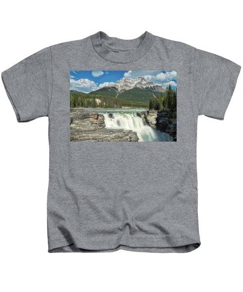 Athabasca Falls Kids T-Shirt