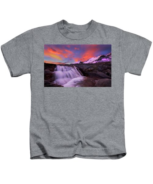 Athabasca On Fire Kids T-Shirt