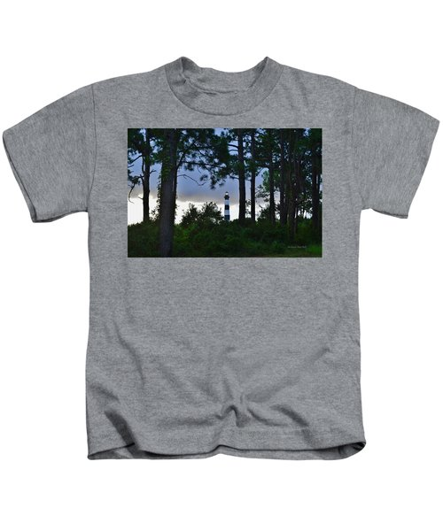 August 9 Bodie Lt House Kids T-Shirt