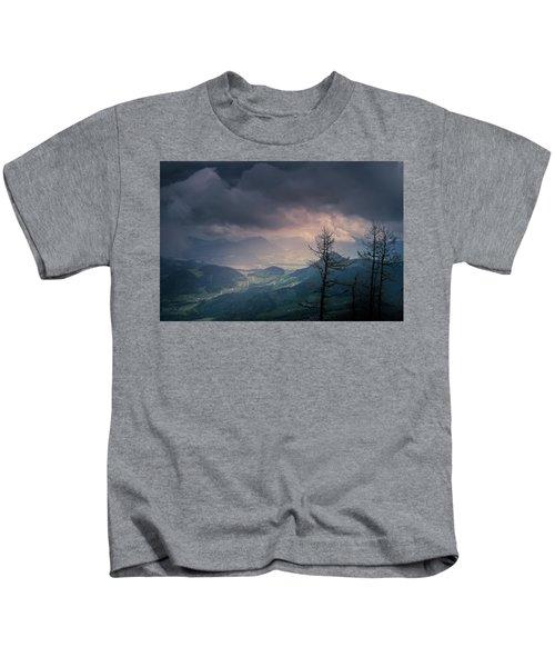 Austrian Alps Kids T-Shirt