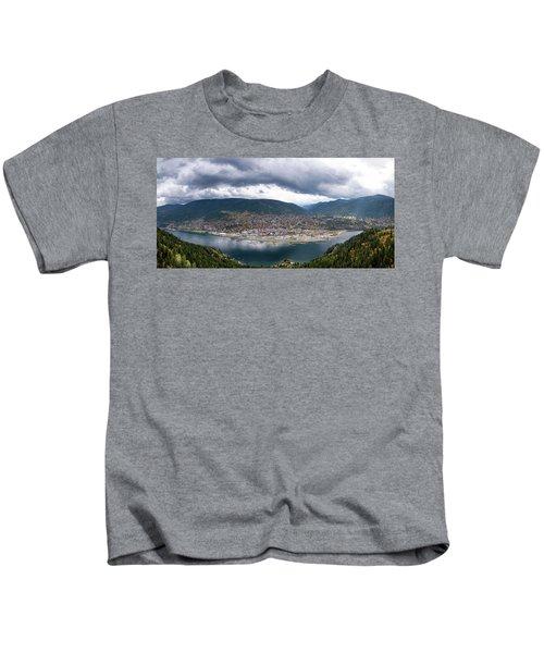 Autumn At Nelson Kids T-Shirt