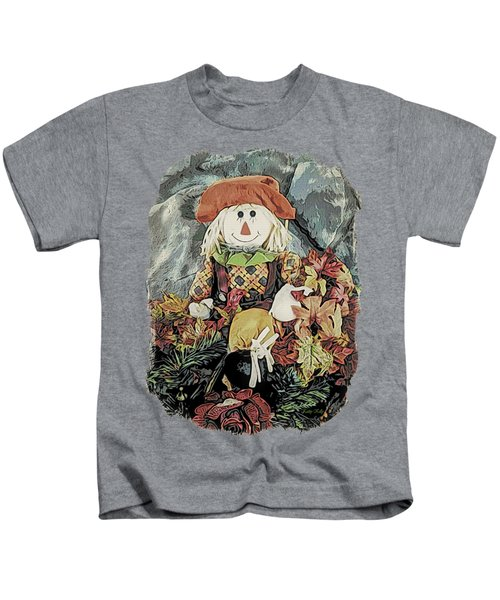 Autumn Country Scarecrow Kids T-Shirt