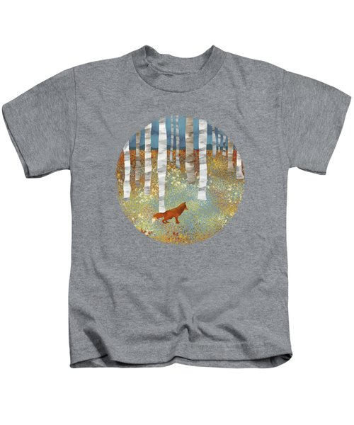 Autumn Fox Kids T-Shirt