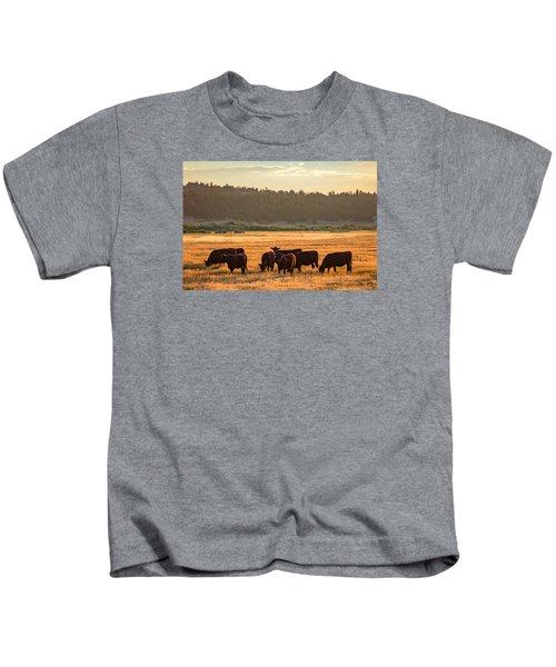 Autumn Herd Kids T-Shirt