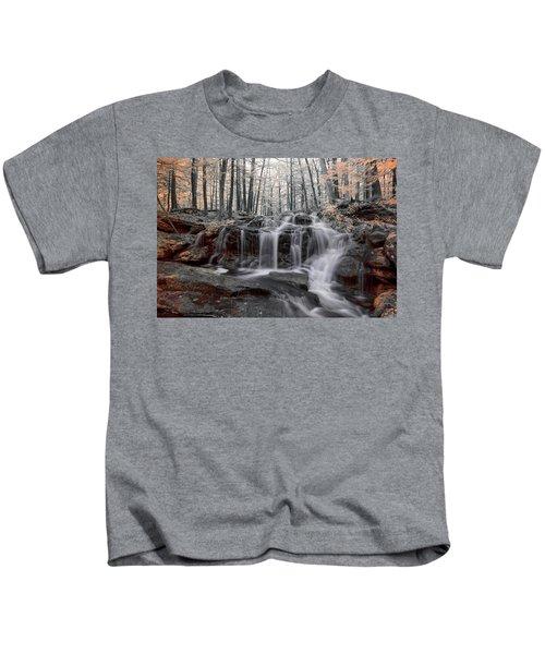 Autumn In Spring Infrared Kids T-Shirt