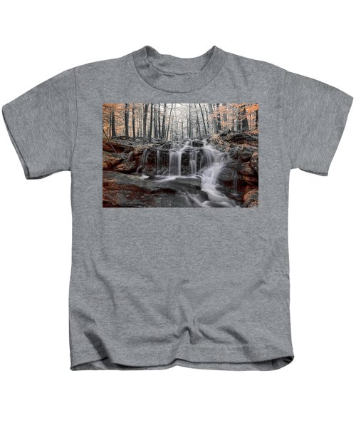 Autumn In Spring Infrared Kids T-Shirt