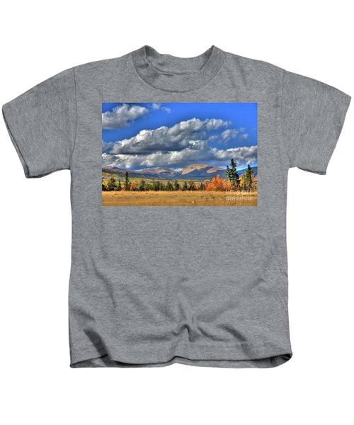 Autumn In The Rockies Kids T-Shirt