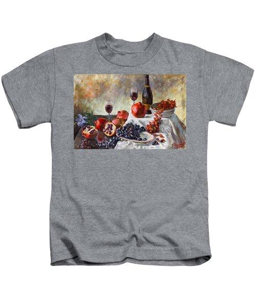 Autumn N' A Flower Kids T-Shirt