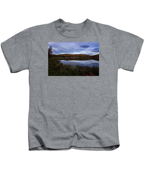 Autumn On North Pond Road Kids T-Shirt