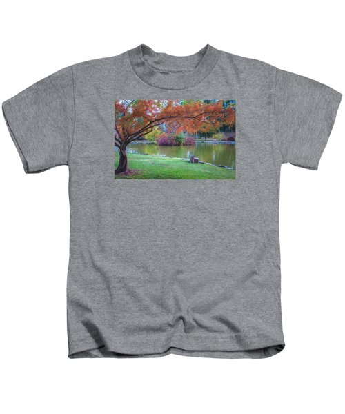 Autumn's Embrace Kids T-Shirt