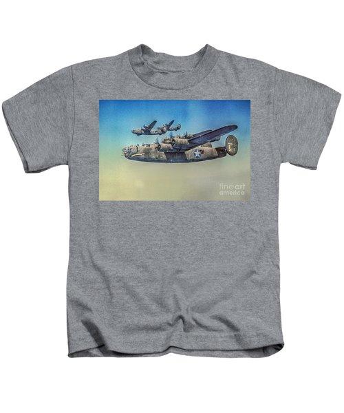 B-24 Liberator Bomber Kids T-Shirt