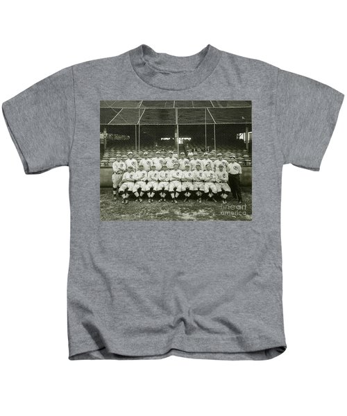 Babe Ruth Providence Grays Team Photo Kids T-Shirt