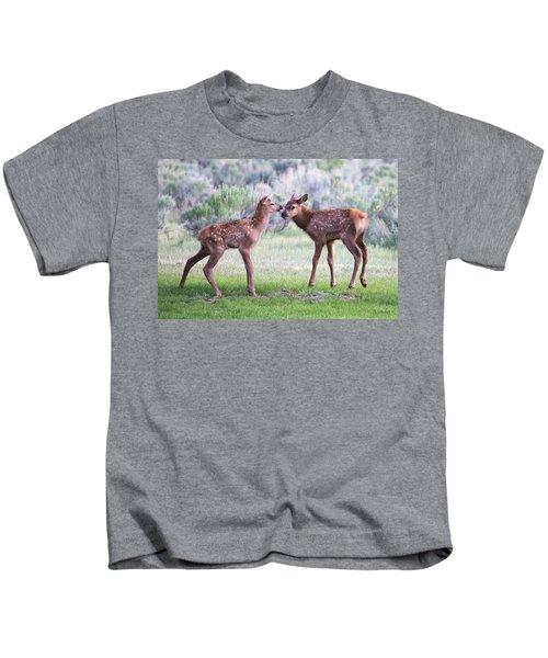 Baby Elk Kids T-Shirt