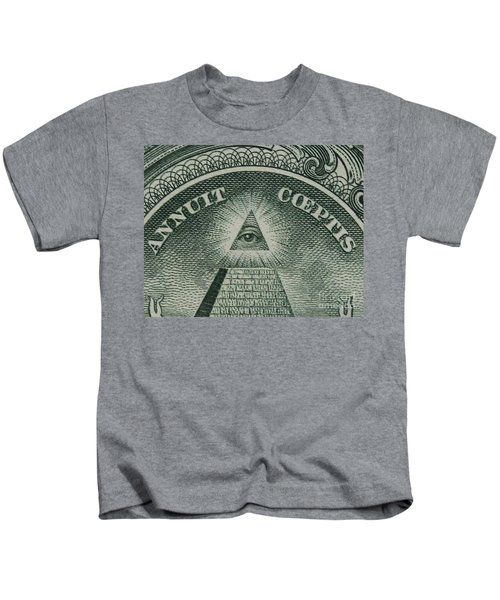 Back Of 1 Dollar Bill Kids T-Shirt