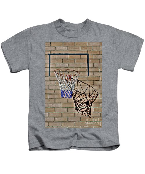 Backyard Basketball Kids T-Shirt