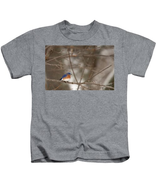 Backyard Blue Kids T-Shirt