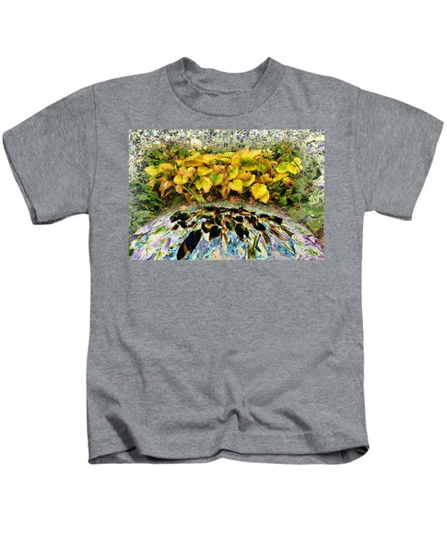 Backyard Portal.... Kids T-Shirt