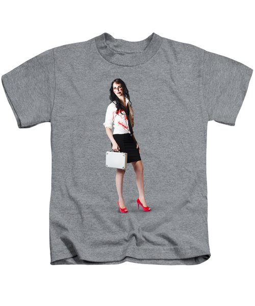 Bad Day At The Office Kids T-Shirt