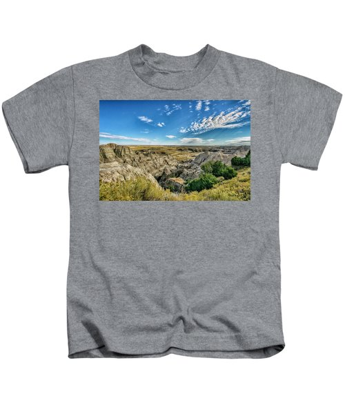Bad Lands South Dakota.... Kids T-Shirt