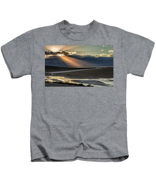 Bad Water Basin Death Valley National Park Kids T-Shirt
