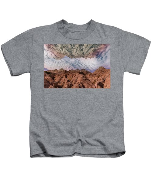 Badlands Reflection.... Kids T-Shirt