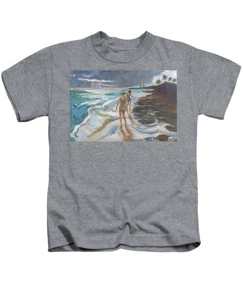 Bahia Honda Beach Kids T-Shirt