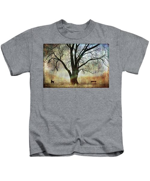 Balance And Harmony Kids T-Shirt