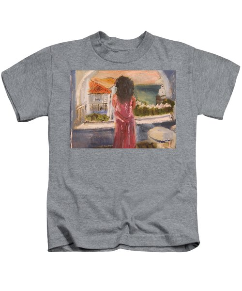 Balcony View Kids T-Shirt