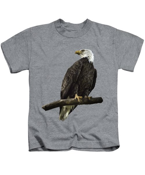 Bald Eagle Transparency Kids T-Shirt
