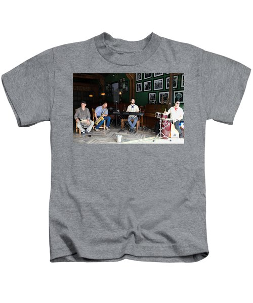 Band On Calle Ocho Kids T-Shirt