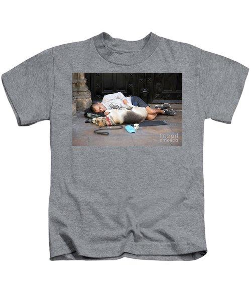 Barcelona Spain In Need  Kids T-Shirt