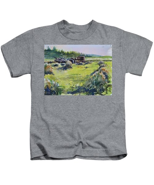 Barley Harvest Kids T-Shirt