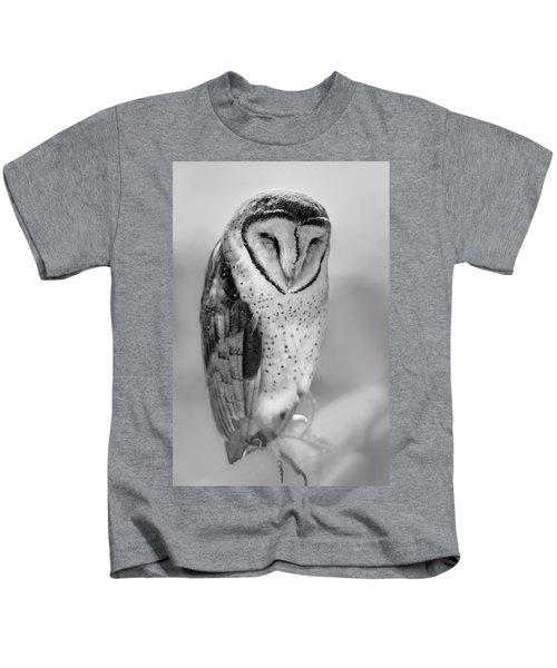 Barn Owl II Kids T-Shirt