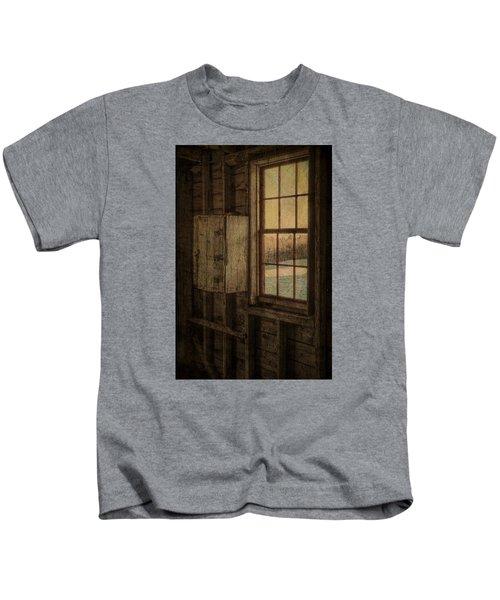 Barn Window Kids T-Shirt
