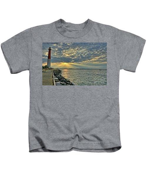 Barneget Lighthouse  New Jersey Kids T-Shirt