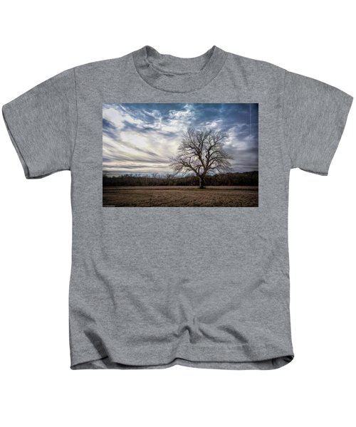 Baron Tree Of Winter Kids T-Shirt