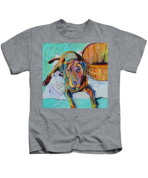 Basket Retriever Kids T-Shirt