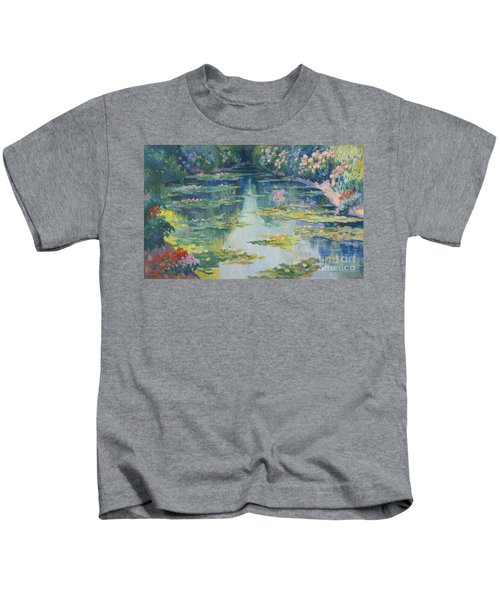 Bassin Aux Nympheas Kids T-Shirt
