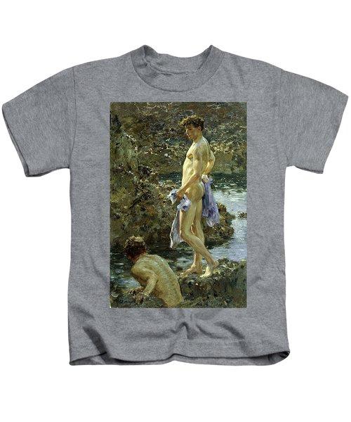 Bathing Group Of 1914 Kids T-Shirt