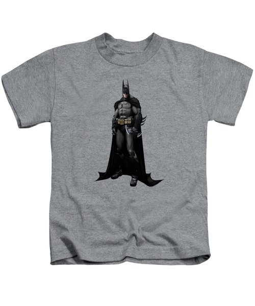 Batman Splash Super Hero Series Kids T-Shirt by Movie Poster Prints