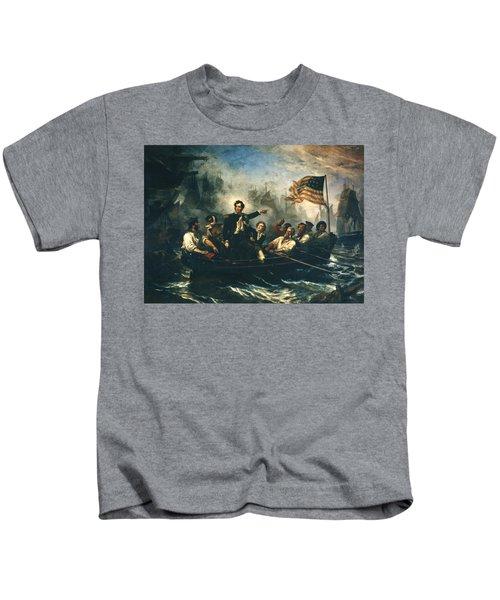 Battle Of Lake Erie Kids T-Shirt