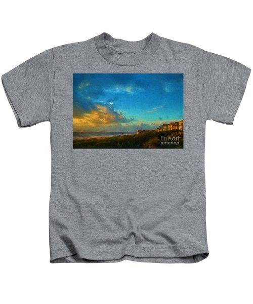 Beach Beauty  Kids T-Shirt